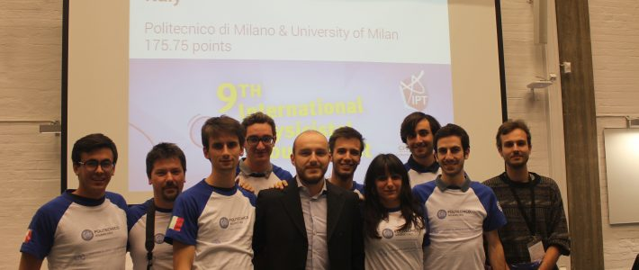 Italy in the International Physicists' Tournament!